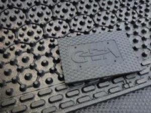 Резиновый мат в стойла GEA (беспривязное содержание)